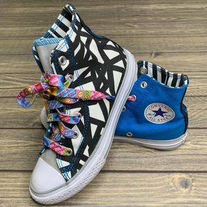 Limited Rare Converse Geometric High Tops Sneakers